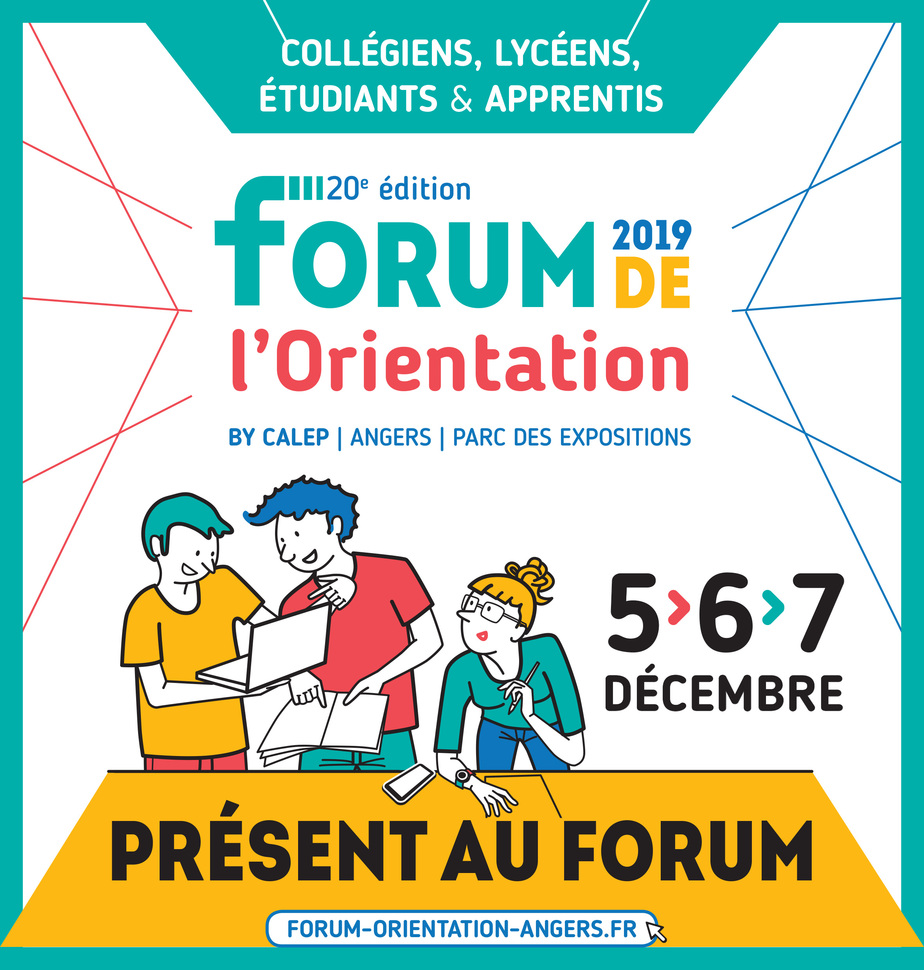 affiche FORUM CALEP Angers 2019