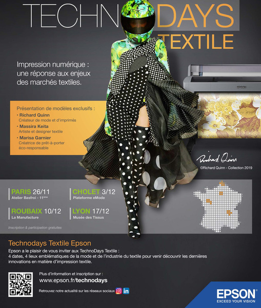 _Technodays textile EPSON_invitation