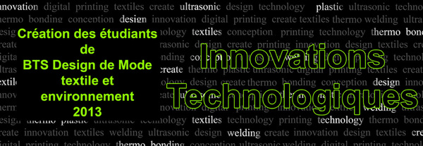 technologies et innovations créatives